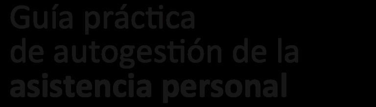 Guía práctica de autogestión AP