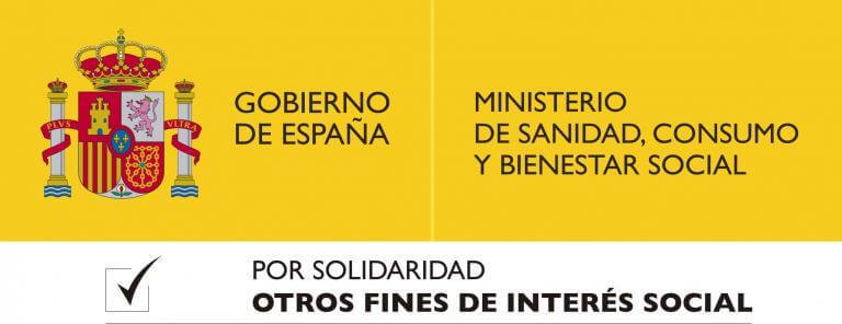 Ministerio de Sanidad, Consumo y Bienestar Social. Otros Fines de Interés Social